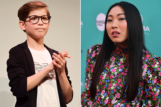 Jacob Tremblay and Awkwafina