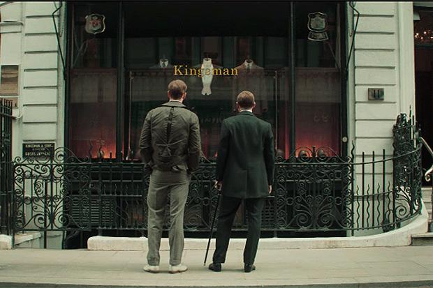 Kingsman trailer, YouTube