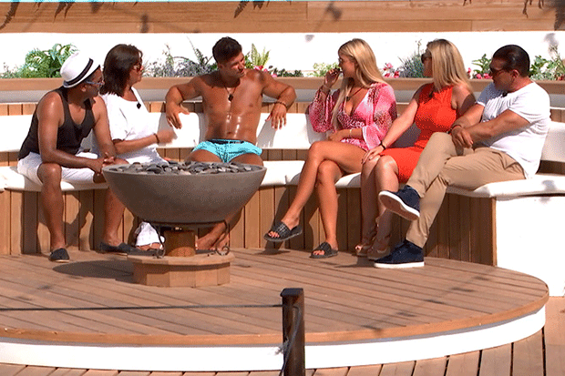 Love Island families, ITV Pictures