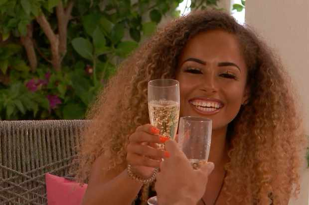 From ITV Studios  Love Island: SR5: Ep39 on ITV2  Pictured: Greg and Amber go on a date.  This photograph is (C) ITV Plc and can only be reproduced for editorial purposes directly in connection with the programme or event mentioned above, or ITV plc. Once made available by ITV plc Picture Desk, this photograph can be reproduced once only up until the transmission [TX] date and no reproduction fee will be charged. Any subsequent usage may incur a fee. This photograph must not be manipulated [excluding basic cropping] in a manner which alters the visual appearance of the person photographed deemed detrimental or inappropriate by ITV plc Picture Desk.  This photograph must not be syndicated to any other company, publication or website, or permanently archived, without the express written permission of ITV Picture Desk. Full Terms and conditions are available on the website www.itv.com/presscentre/itvpictures/terms  For further information please contact: james.hilder@itv.com / 0207 157 3052