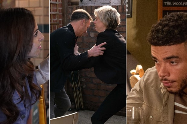 Next week on Coronation Street, EastEnders, Emmerdale, Neighbours and Holby City