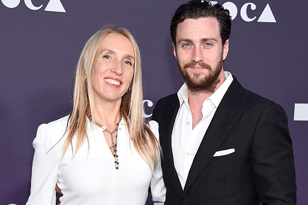 Sam and Aaron Taylor-Johnson, Getty