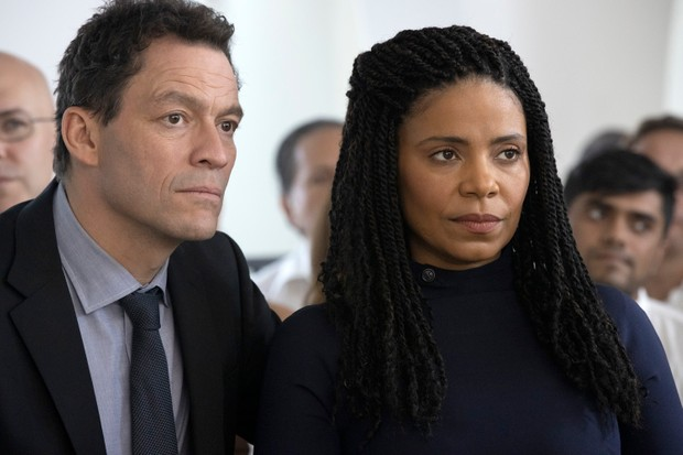 "(L-R): Dominic West as Noah and Sanaa Lathan as Janelle in THE AFFAIR, ""Episode 2"". Photo Credit: Paul Sarkis/SHOWTIME."
