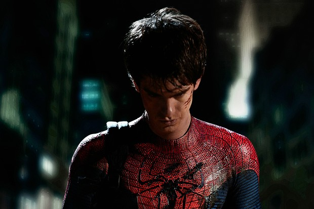 Andrew Garfield in 2012's The Amazing Spider-Man (Sony)