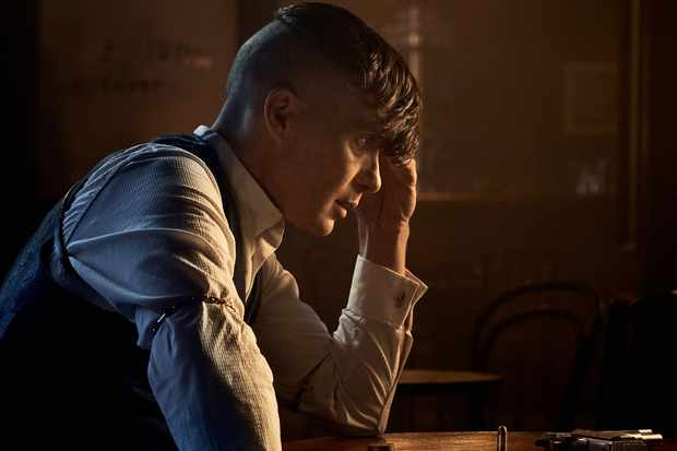 WARNING: Embargoed for publication until 00:00:01 on 09/08/2019 - Programme Name: Peaky Blinders V - TX: n/a - Episode: Peaky Blinders V (No. n/a) - Picture Shows: ****Image strictly embargoed for publication until 00:01 hrs 09/08/2019**** Tommy Shelby (Cillian Murphy) - (C) Caryn Mandabach Productions Ltd. 2019 - Photographer: Robert Viglasky