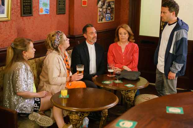 coronation street bernie winter gemma winter paul foreman
