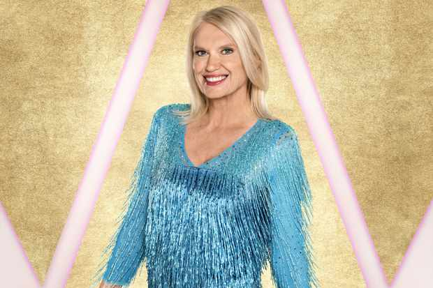 Anneka Rice Strictly (BBC)