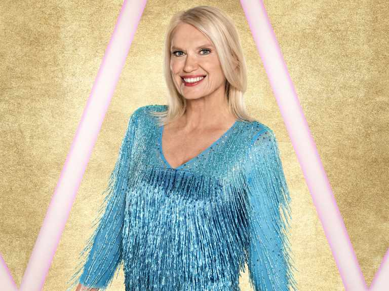 Anneka Rice on Strictly costumes: 'I asked to wear trousers but the dresses are getting shorter'