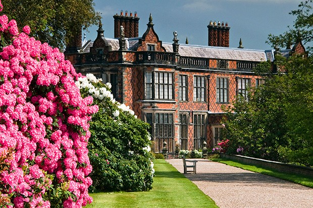 Arley Hall and Gardens in Cheshire.
