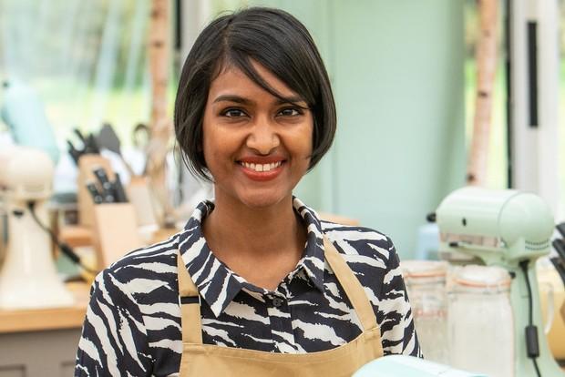 Bake Off Priya (Channel 4)