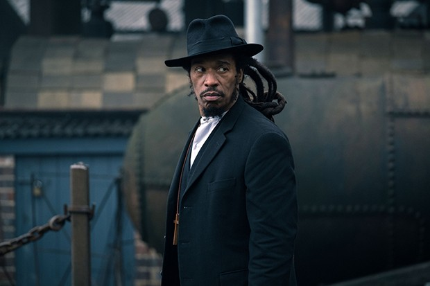 Benjamin Zephaniah plays Jeremiah Jesus in Peaky Blinders