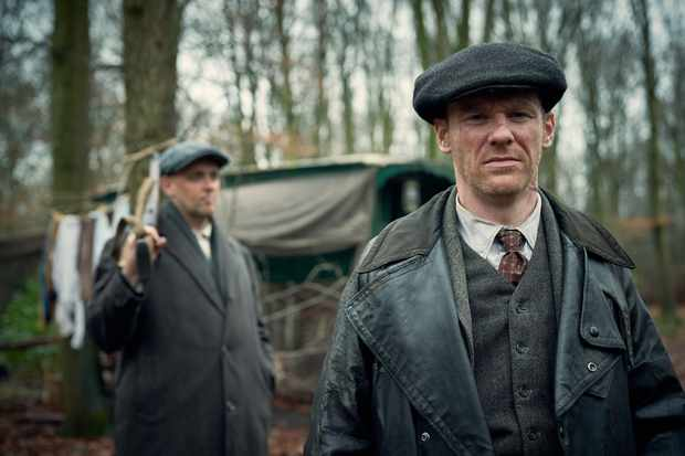Brian Gleeson plays Jimmy McCavern in Peaky Blinders
