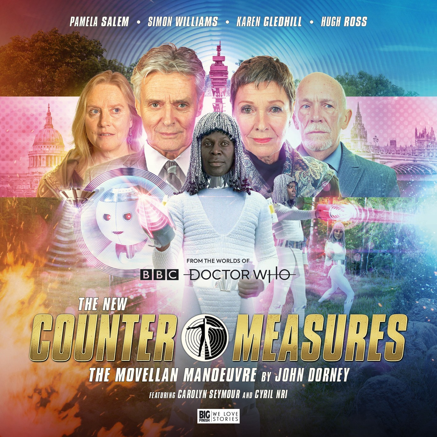 The New Counter-Measures: The Movellan Manoeuvre - Big Finish
