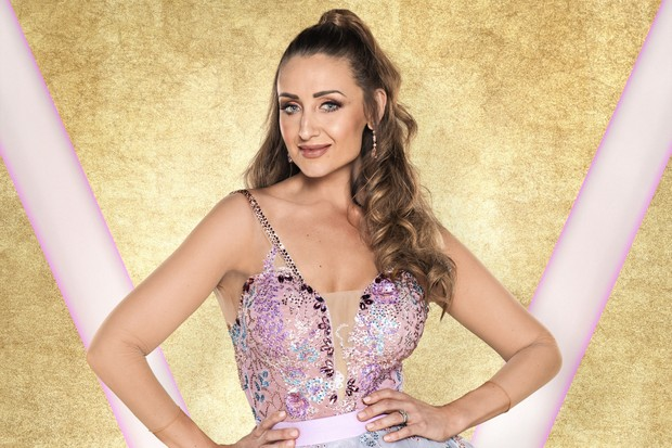 Catherine Tyldesley Strictly (BBC)