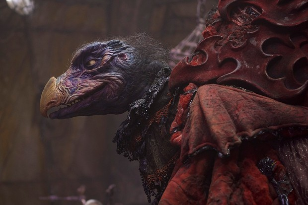 Simon Pegg's Chamberlain in The Dark Crystal: Age of Resistance (Netflix)