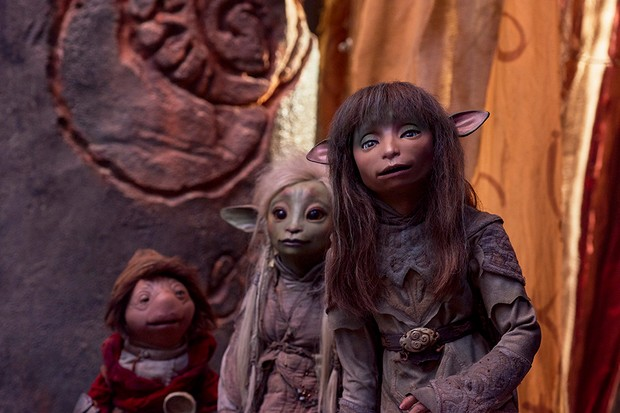 Hup, Deet and Rian in The Dark Crystal: Age of Resistance (Netflix)