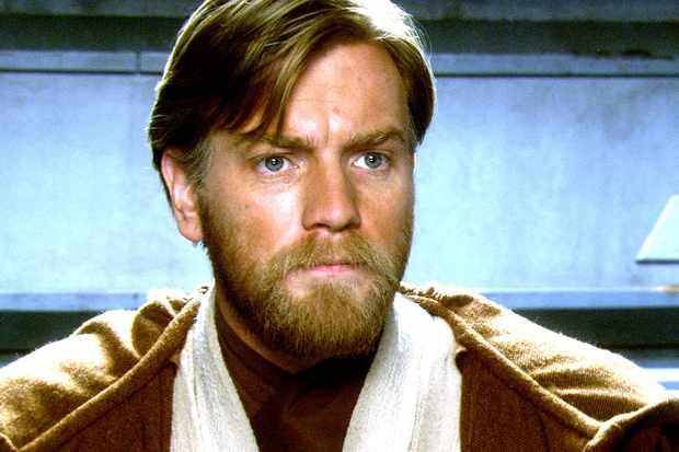 Star Wars Episode III - Revenge Of The Sith starring Ewan McGregor as Obi-Wan Kenobi
