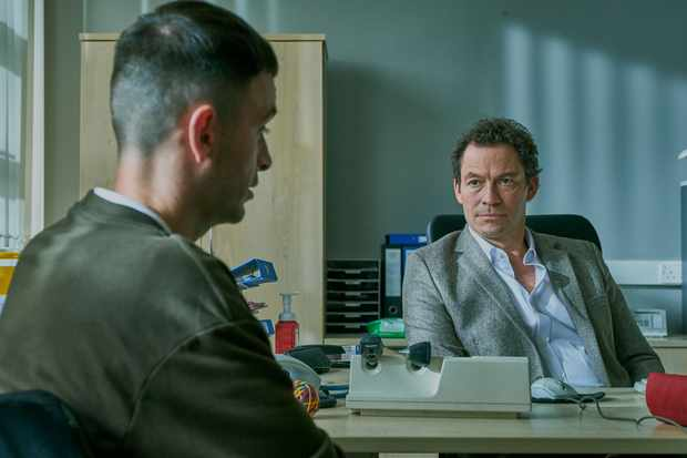 Brassic - Dominic West as the doctor