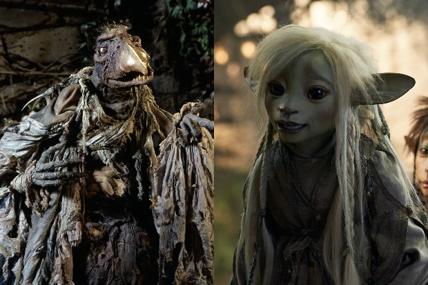 The Dark Crystal's Chamberlain (1982) and Prequel Age of Resistance's Deet (2019)
