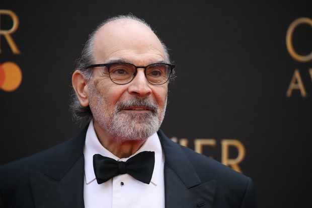 LONDON, ENGLAND - APRIL 07: David Suchet attends The Olivier Awards 2019 with MasterCard at Royal Albert Hall on April 07, 2019 in London, England. (Photo by Mike Marsland/WireImage)
