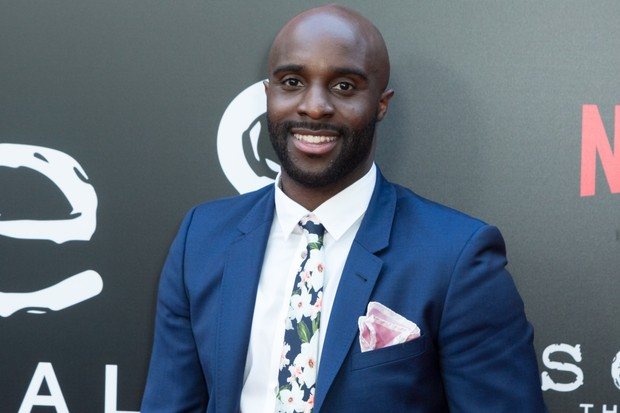 "HOLLYWOOD, CA - JUNE 07: Toby Onwumere attends Netflix's ""Sense8"" Series Finale Fan Screening at ArcLight Hollywood on June 7, 2018 in Hollywood, California.  (Photo by Greg Doherty/Getty Images)"