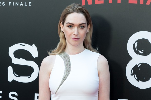 "HOLLYWOOD, CA - JUNE 07:  Jamie Clayton attends Netflix's ""Sense8"" Series Finale Fan Screening at ArcLight Hollywood on June 7, 2018 in Hollywood, California.  (Photo by Greg Doherty/Getty Images)"