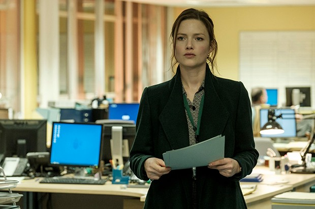 Holliday Grainger plays Rachel Carey in The Capture