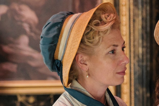 Kate Ashfield plays Mary Parker in Sanditon