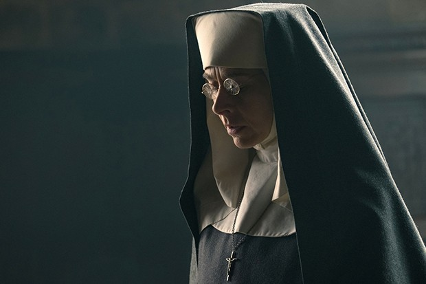 Kate Dickie plays Mother Superior in Peaky Blinders
