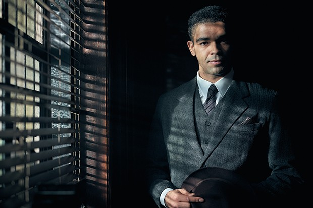 Kingsley Ben-Adir plays Colonel Ben Younger in Peaky Blinders
