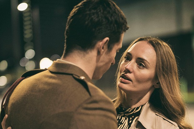 Laura Haddock plays Hannah Roberts in The Capture