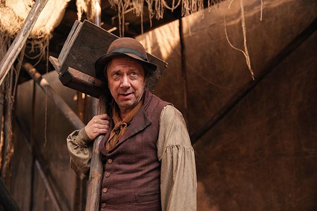 Rob Jarvis plays Old Stringer in Sanditon