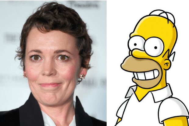 Olivia Colman The Simpsons