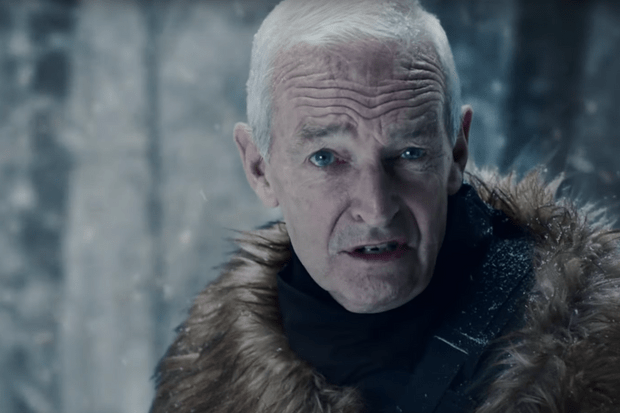 Jon Snow in Channel 4 ad