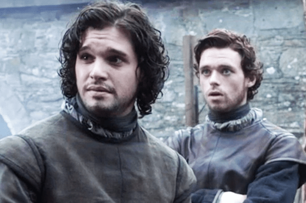 Kit Harington and Richard Madden in Game of Thrones (HBO)