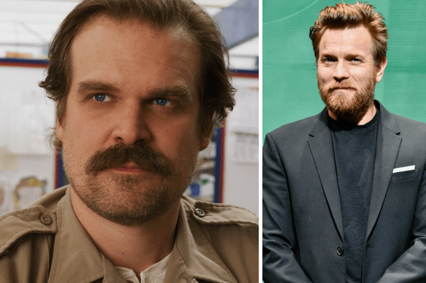 Jim Hopper stranger things headshots