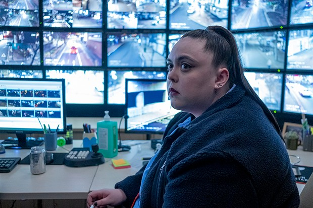 Sharon Rooney plays Becky in The Capture