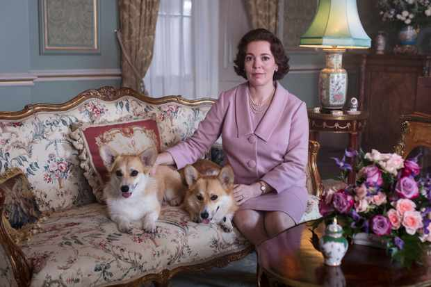 Olivia Colman in Netflix's The Crown