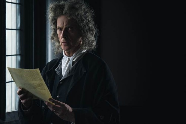 Peter Capaldi in Martin's Close (BBC)