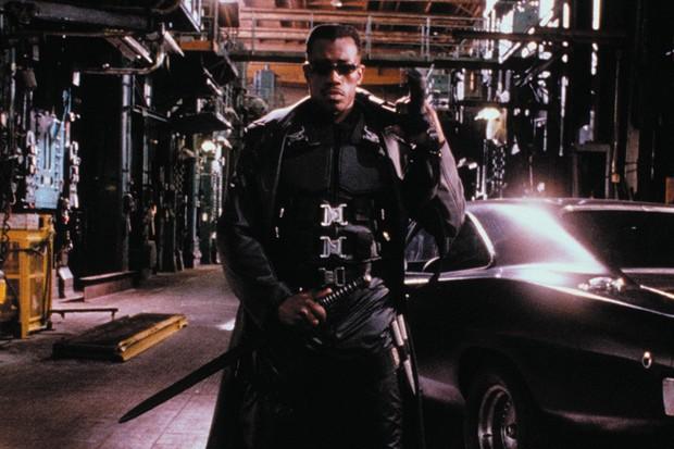 Wesley Snipes in 1998's Blade (Sky)