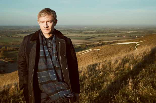 Martin Freeman as Steve Fulcher in A Confession (ITV)