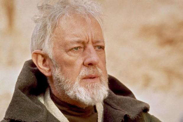 Obi-Wan Kenobi, played by Alec Guinness
