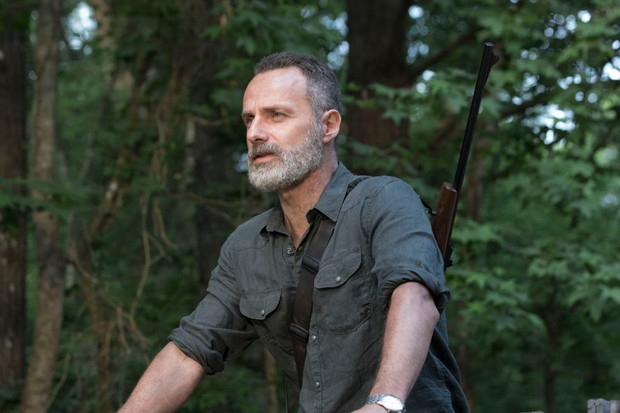 Andrew Lincoln as Rick Grimes - The Walking Dead Season 9