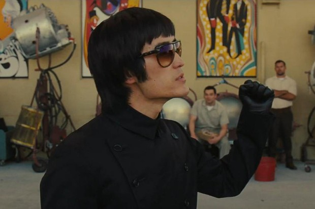 Bruce Lee (Mike Moh) in Once Upon a Time in Hollywood