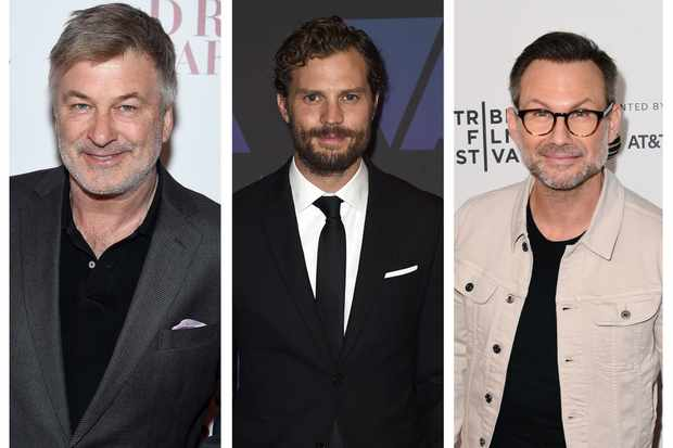 Alec Baldwin, Jamie Dornan, Christian Slater Dr Death (Getty)