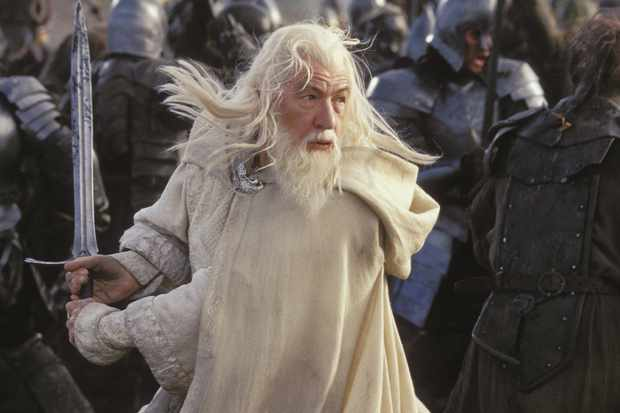 Gandalf in The Lord of the Rings: The Return of the King