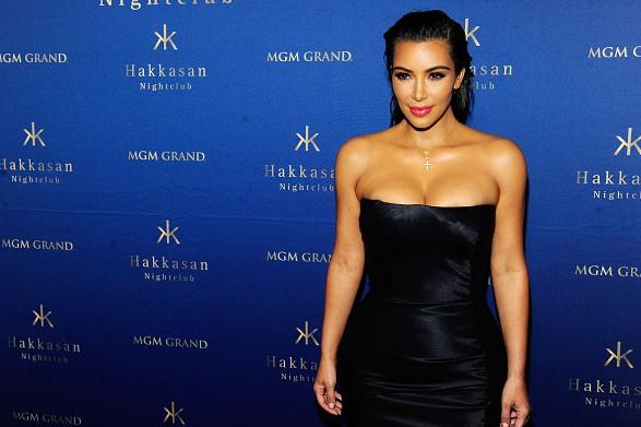 LAS VEGAS, NV - JULY 23:  Television personality Kim Kardashian West arrives at Hakkasan Las Vegas Nightclub at MGM Grand Hotel & Casino on July 23, 2016 in Las Vegas, Nevada.  (Photo by Steven Lawton/Getty Images)