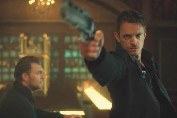 Joel Kinnaman in Altered Carbon
