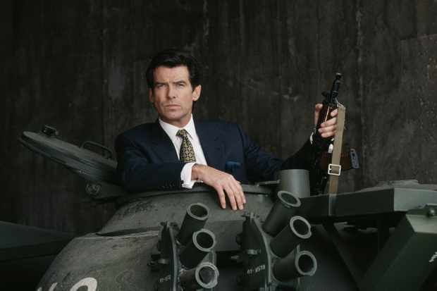 Pierce Brosnan as James Bond in GoldenEye