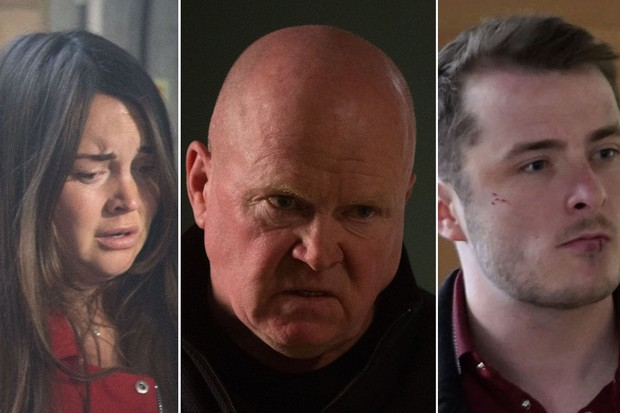 Who attacked Phil on EastEnders?